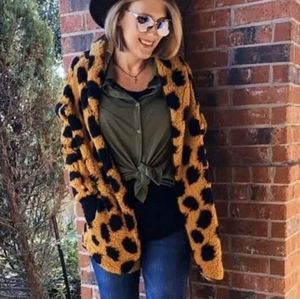 Lularoe Teddy Bear Jacket
